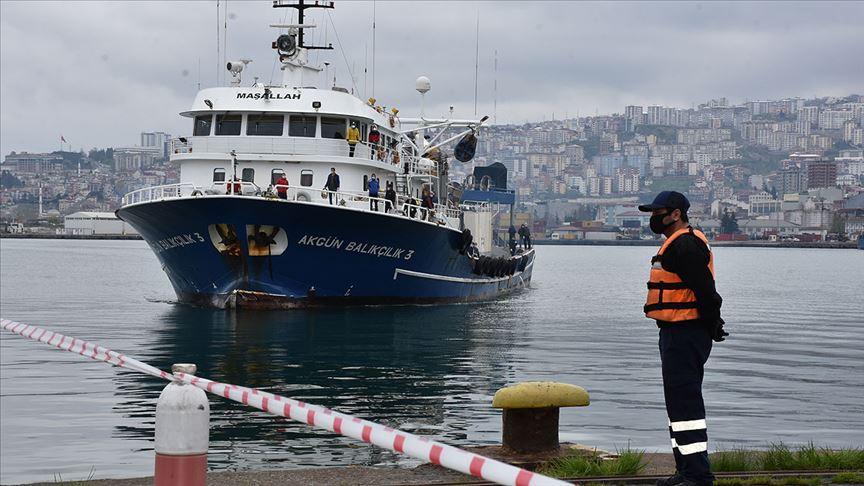 Moritanya'dan getirilen balıkçılar Trabzon'da yurda yerleştirildi