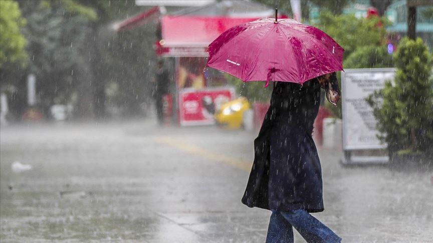 Meteoroloji'den flaş uyarı! 3 bölge için sağanak yağış uyarısı