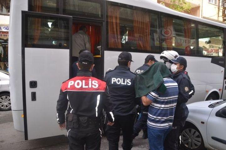 Kahramanmaraş'ta kahvehanede oyun oynayan 13 kişi yakalandı