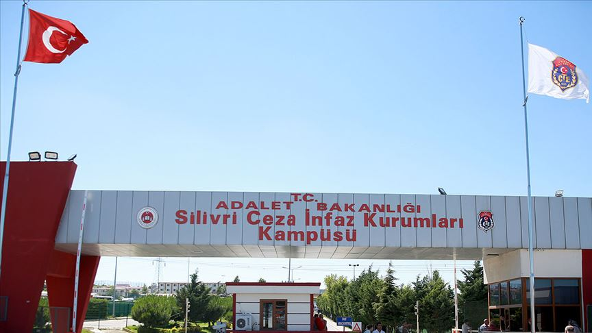 Silivri Cezaevi'nde 44 kişinin Kovid-19 testi pozitif