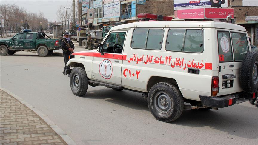 Kabil'de hastaneye silahlı ve bombalı saldırı