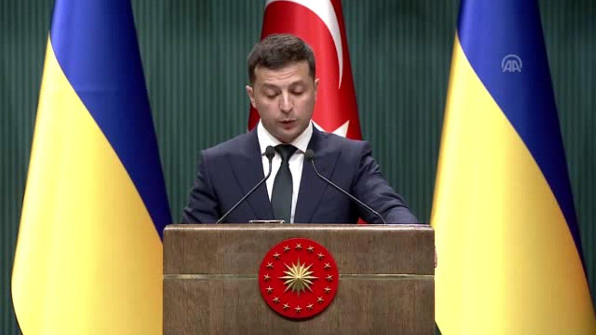 Ukrayna Devlet Başkanı Zelenskiy halka seslendi