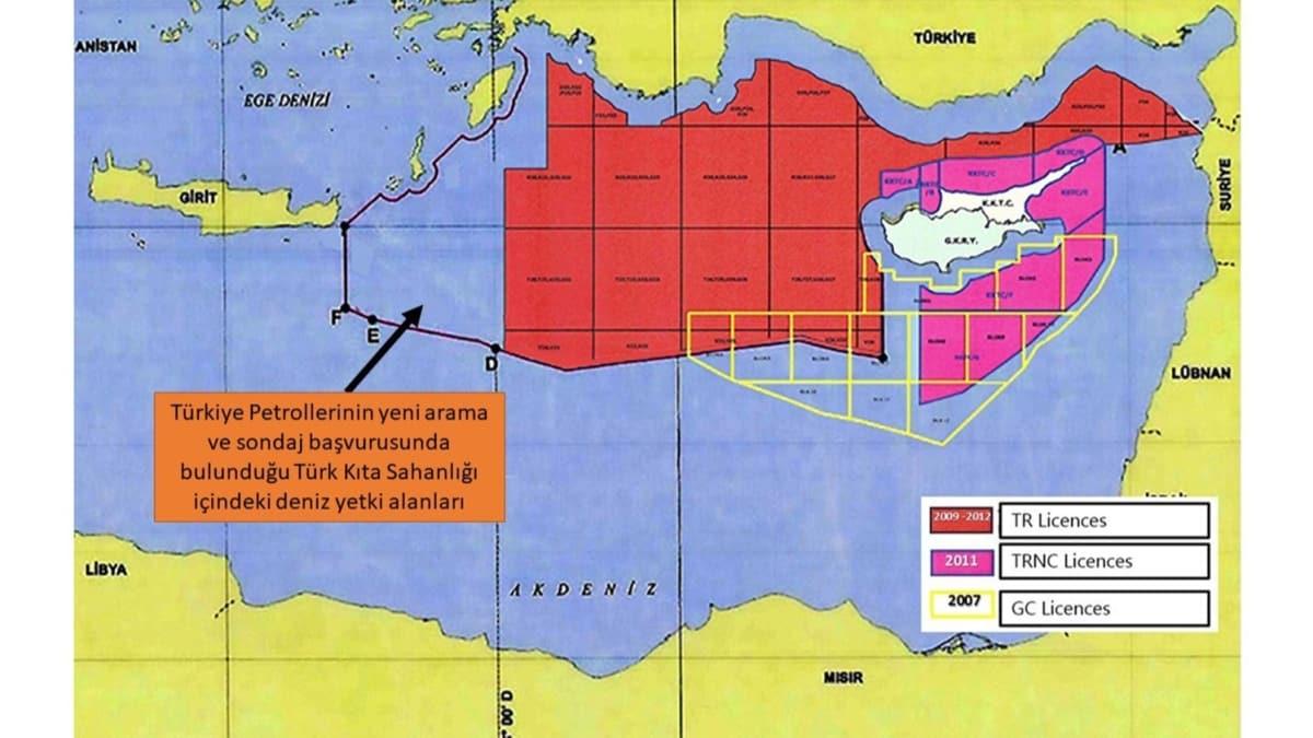 Türkiye, BM'ye bildirdi! Türkiye yeni haritayı paylaştı!