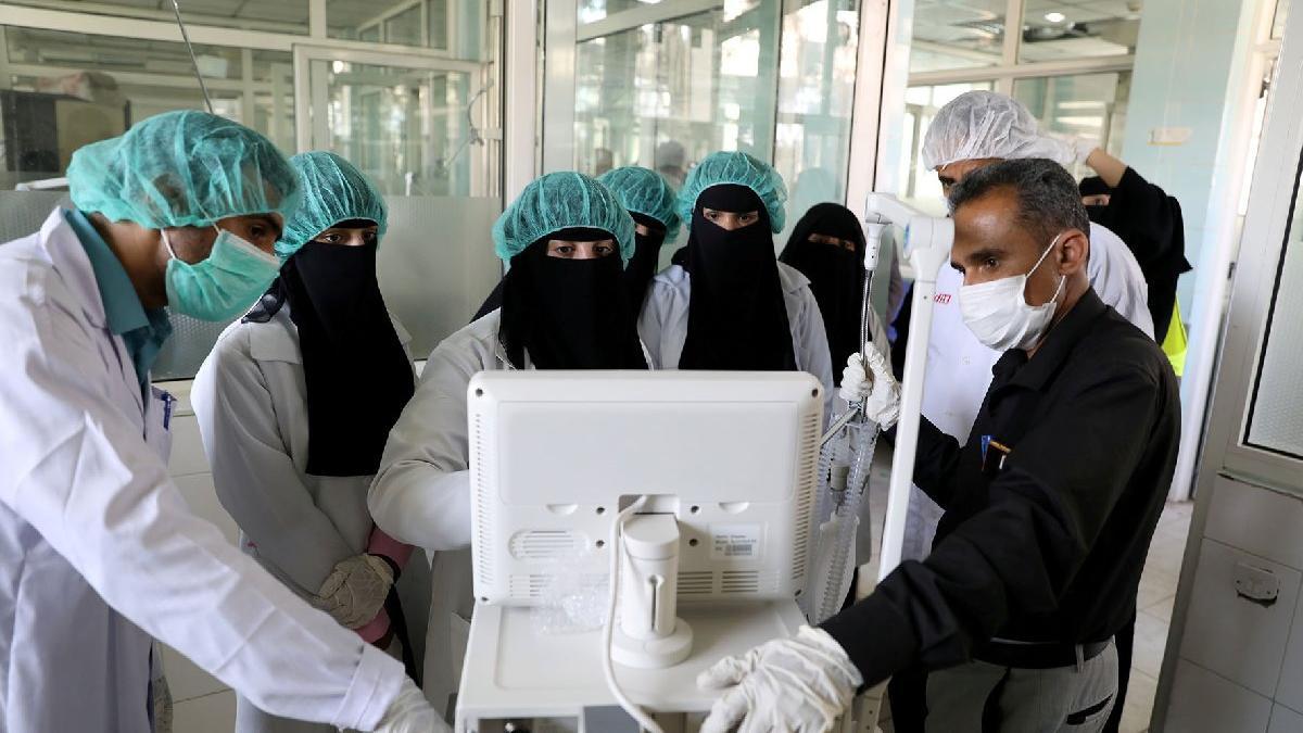 Aden'deki korona hastaları çok hızlı kaybediliyor
