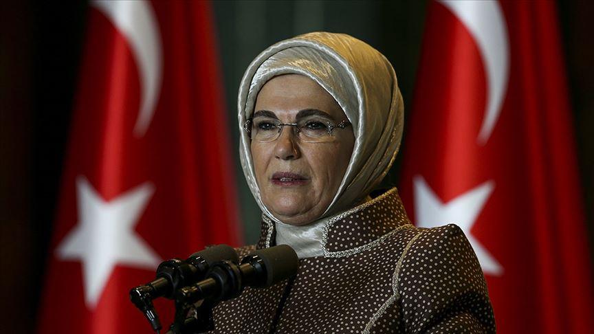 Emine Erdoğan: Deniz ve okyanus dünyadaki tüm ülkelerin ortak sınırıdır