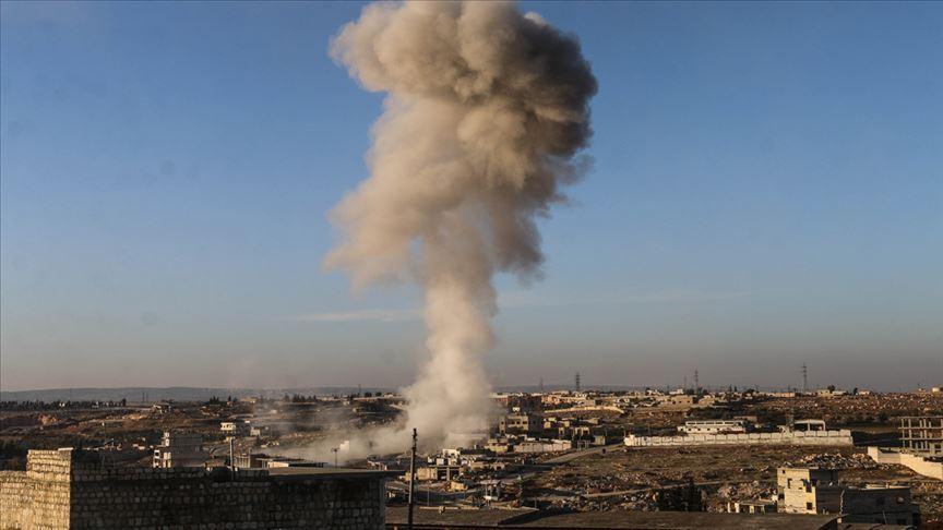Rus savaş uçakları İdlib'de ateşkesi ihlal etti!