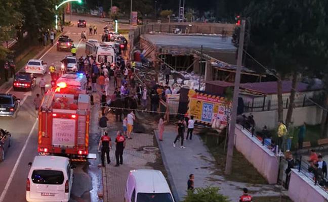 Ordu'da otel inşaatında göçük: 1 kişi yaralı, 1 işçi aranıyor