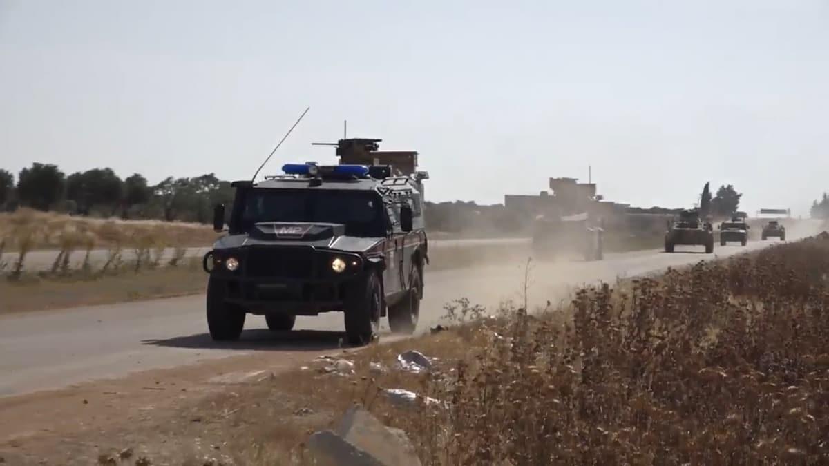Türk-Rus ortak devriye esnasında patlama! Bakanlık açıklama yaptı