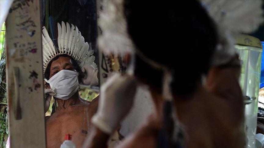 Amazonlar'da yerli halk Kovid-19 tehlikesiyle karşı karşıya