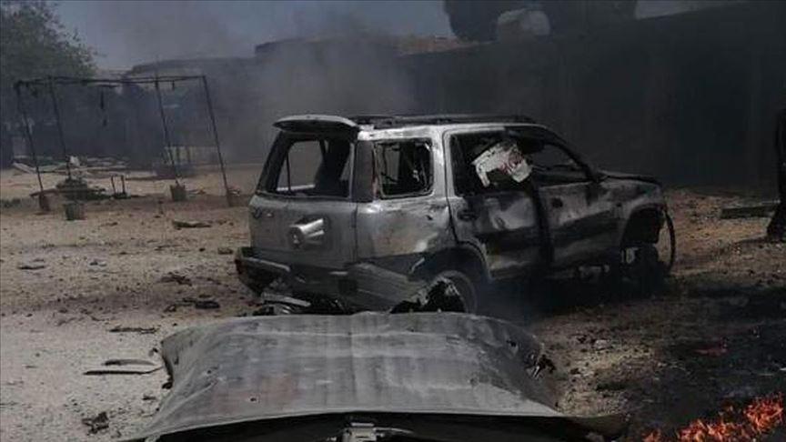 Barış Pınarı bölgesinde bombalı saldırı!