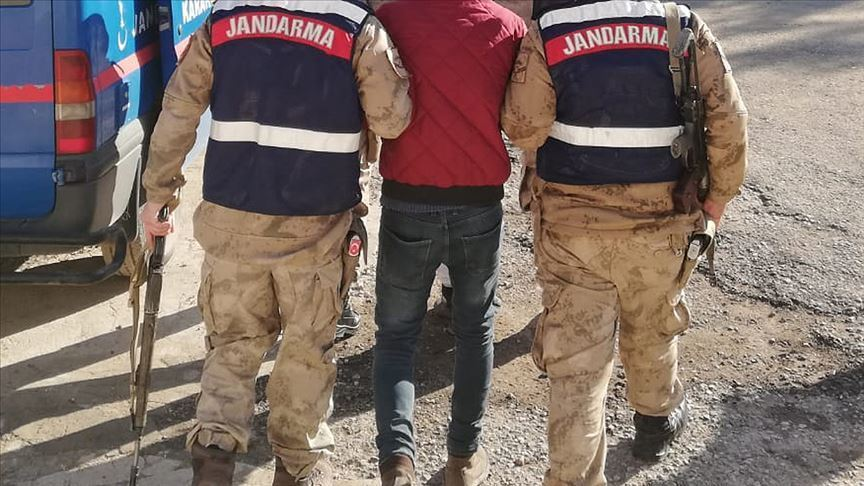 Mardin'de bir terörist yakalandı