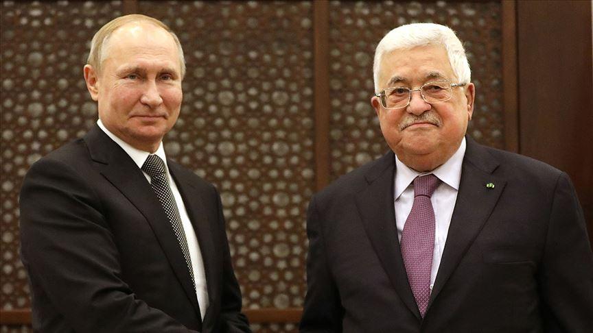 Abbas ile Putin görüştü