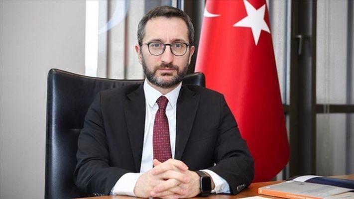 Fahrettin Altun'dan Uluslararası Basın Enstitüsüne tepki