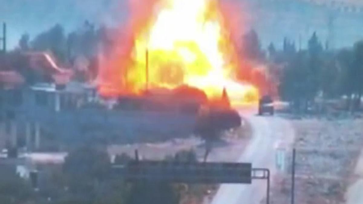 M4 karayolunda Rus askerlere bombalı saldırı
