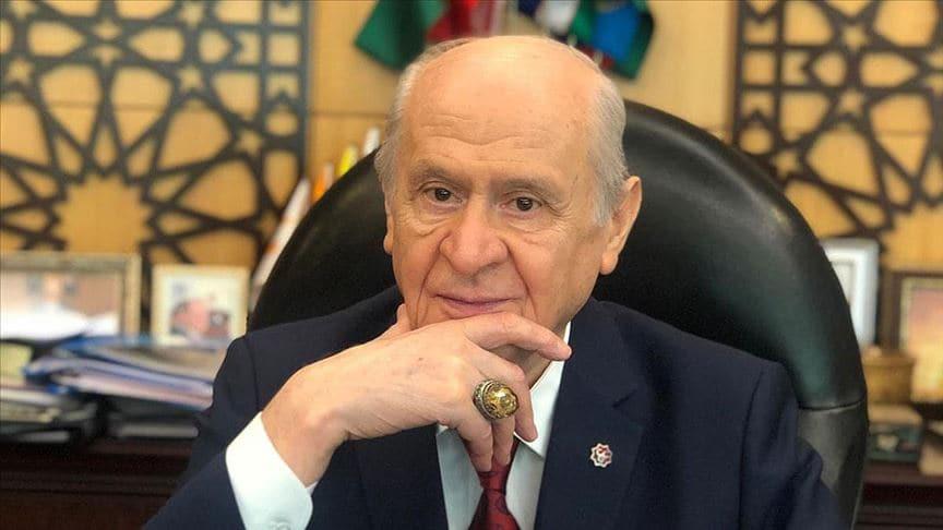 MHP Genel Başkanı Bahçeli'ye sürpriz 'Ayasofya' yüzüğü
