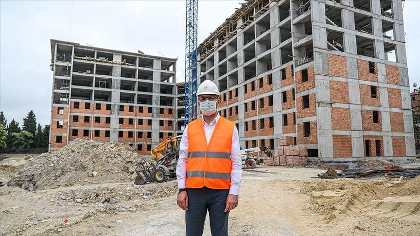 Bakan Kasapoğlu İstanbul'da yapımı süren tesisleri inceledi