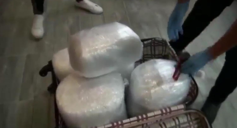 Sabiha Gökçen'de uyuşturucu operasyonu