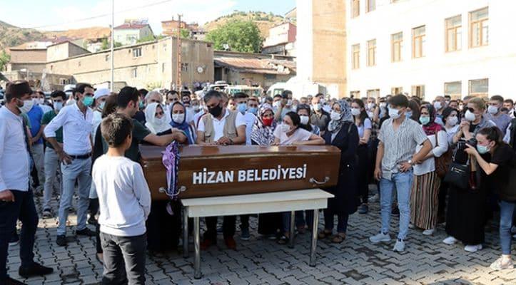 Pınar Gültekin'in cenazesi Bitlis'te defnedildi