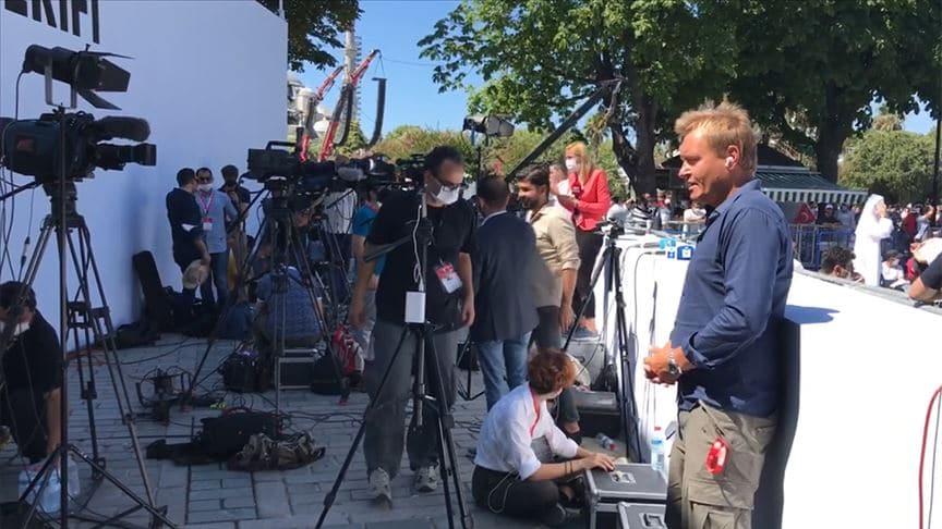 Ayasofya-i Kebir Cami-i Şerifi'nin açılışına yabancı medyadan yoğun ilgi