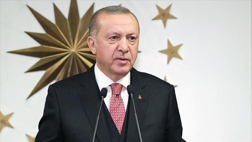 Başkan Erdoğan şehidimizin ailesine başsağlığı diledi