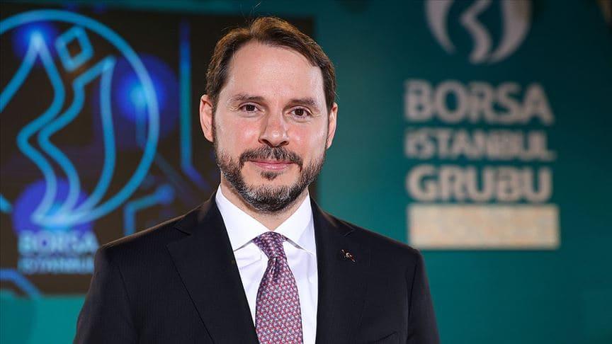 Bakan Albayrak'tan Borsa İstanbul açıklaması: Yeni bir dönem, yeni bir başlangıç