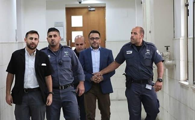 Terör devleti İsrail Kudüs Valisi Gays'ın gözaltı süresini uzattı