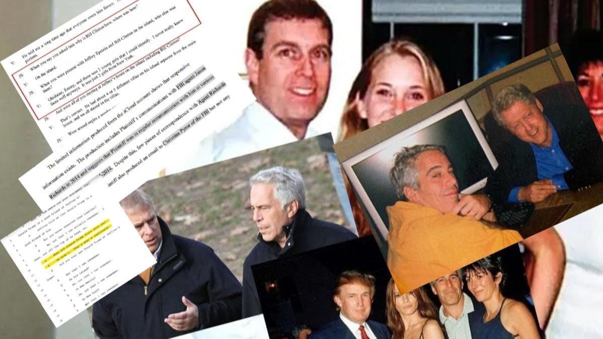 Tecavüz, pedofili, insan ticareti... FBI'dan Mossad'a, Bill Clinton'dan Prens Andrew'e kirli ağ