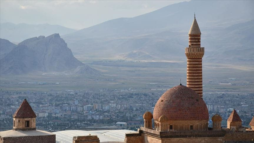 İshak Paşa Sarayı'na Kurban Bayramı'nda yoğun ilgi