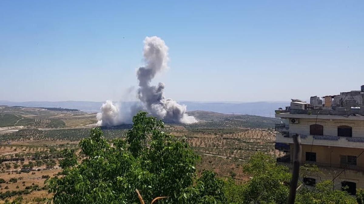 Rus savaş uçakları İdlib'e hava saldırısı düzenledi: 4 sivil hayatını kaybetti