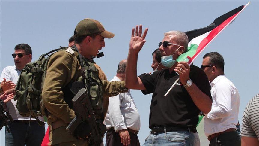 Filistinliler İsrail'in ilhak planını protesto etti