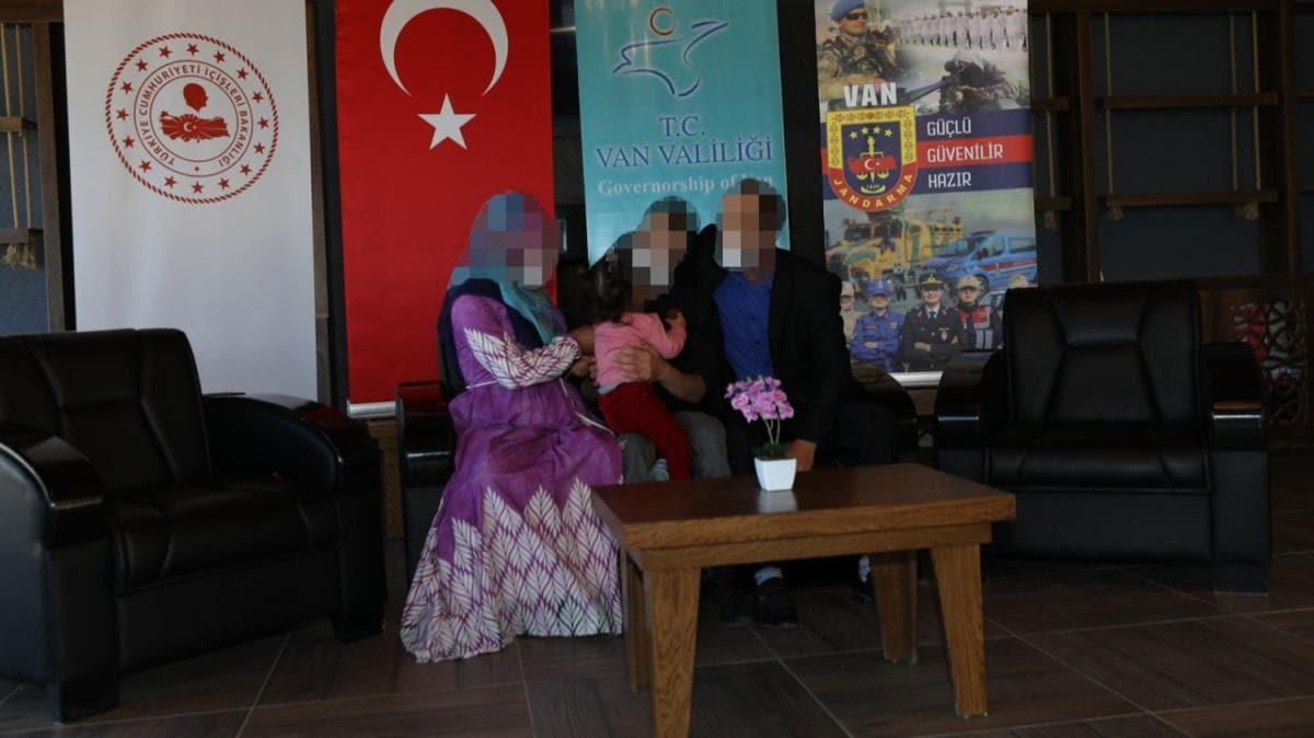 PKK'lı terörist güvenlik güçlerimize teslim oldu