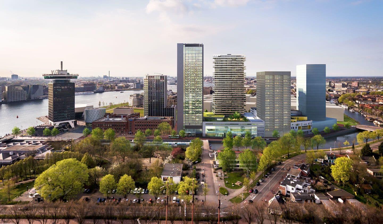 Aygün Alüminyum Hollanda'daki 2. Projesi Olan Y Towers'da Dizayn Çalışmalarına Başladı
