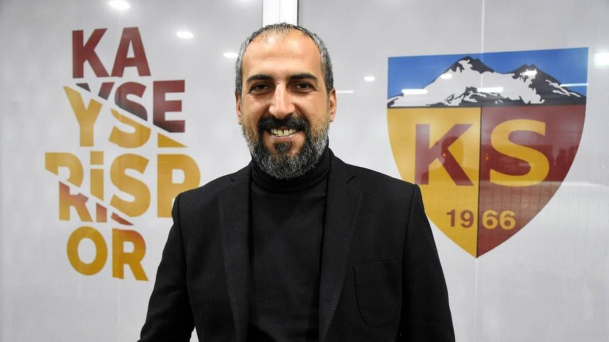 Kayserispor'da Asbaşkan Mustafa Tokgöz istifa etti