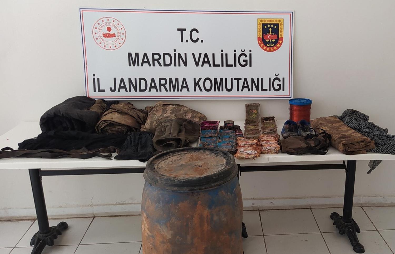 Mardin'de terör örgütüne operasyon
