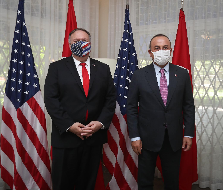 Bakan Çavuşoğlu ABD'li mevkidaşı Pompeo ile görüştü