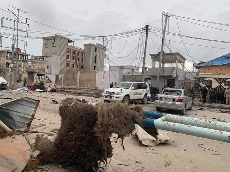 Somali'de bombalı saldırı: 1 ölü, 28 yaralı