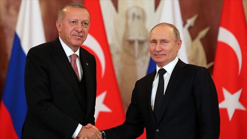 Başkan Erdoğan ile Putin arasında kritik görüşme