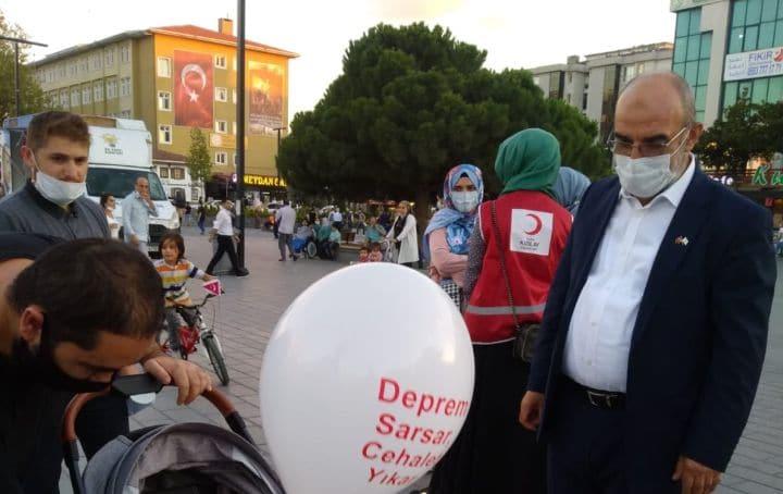 Kızılay Esenyurt Şube Başkanı Aytekin Çolak: Felaketleri hatırlamak tedbir almak için önemlidir
