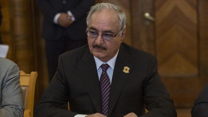 İstihbarat askeri itiraf etti! Darbeci Hafter artık Bingazi'de istenmiyor