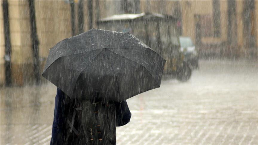 Meteoroloji'den Doğu Anadolu'da sağanak yağış uyarısı