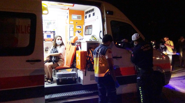 Feci kaza: Yolcu otobüsü şarampole düştü: 30 kişi yaralandı