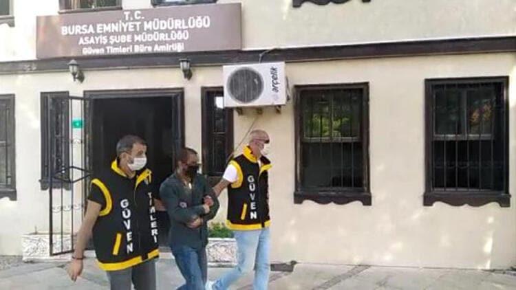 Yalova'da çaldı Bursa'da yakalandı