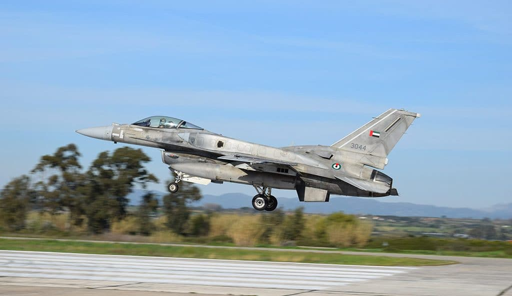 BAE'den zaman ayarlı Yunanistan hamlesi... 4 adet F-16 savaş uçağı gönderdi