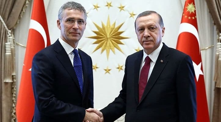 Başkan Erdoğan ve Stoltenberg görüştü