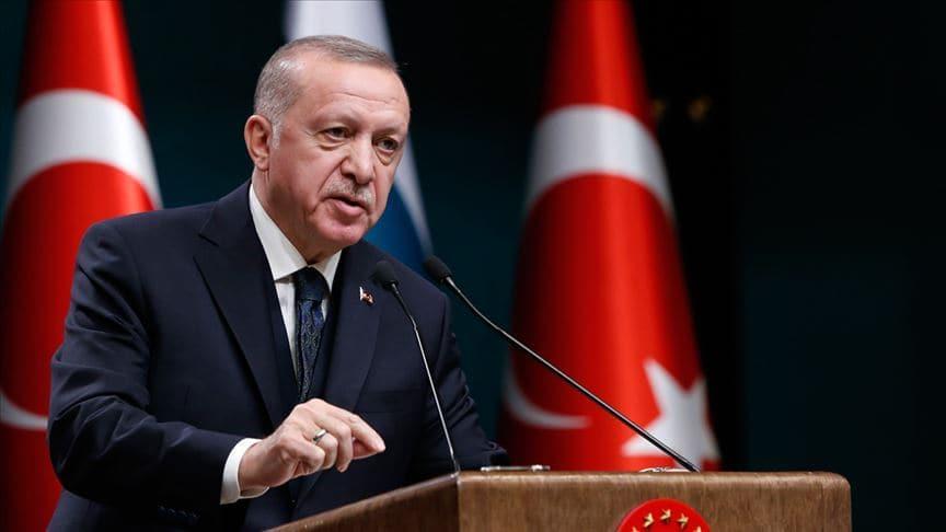 Başkan Erdoğan'dan 'Mavi Vatan' mesajı