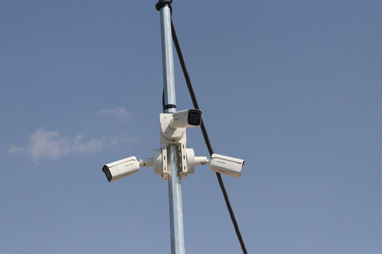 Terör saldırılarına karşı Tel Abyad bölgesi güvenlik kameralarıyla korunuyor