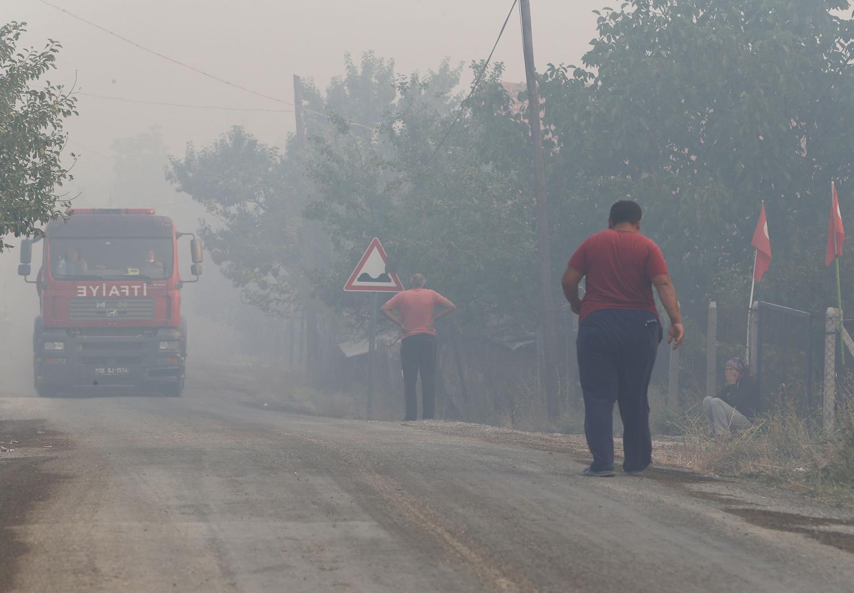 Ankara Nallıhan'da çıkan orman yangını kontrol altına alındı
