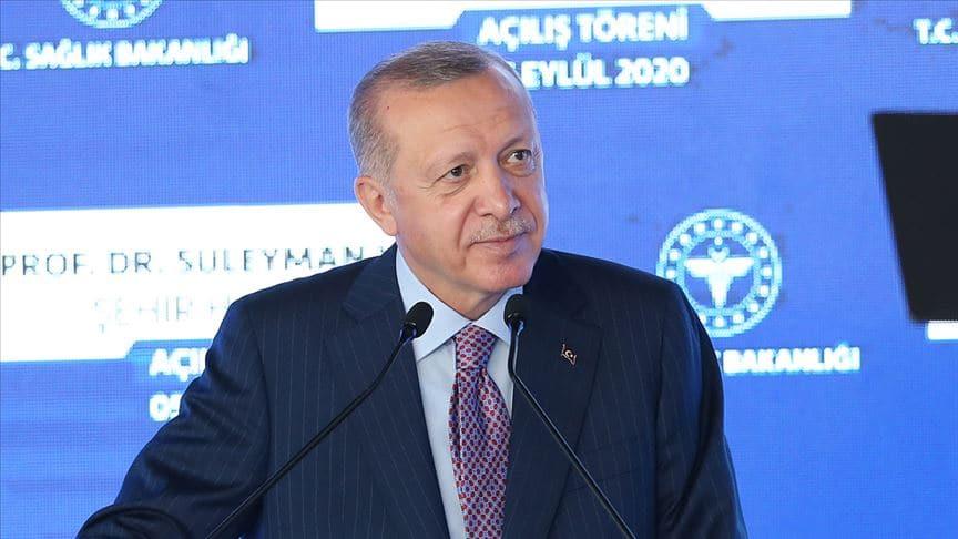 Başkan Erdoğan'dan Göztepe Prof. Dr. Süleyman Yalçın Şehir Hastanesi paylaşımı