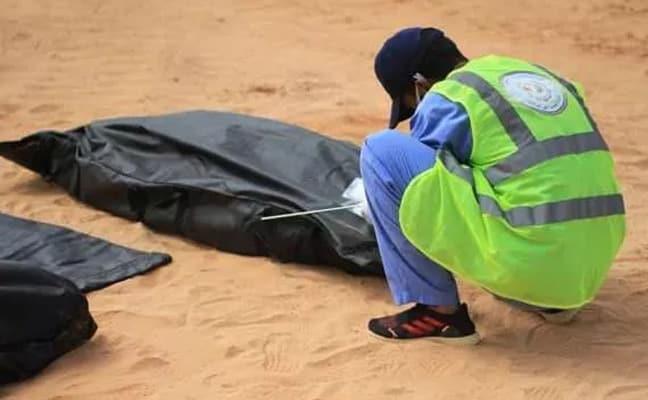 Libya'da darbeci Hafter'den kurtarılan bölgede ikinci toplu mezar bulundu!