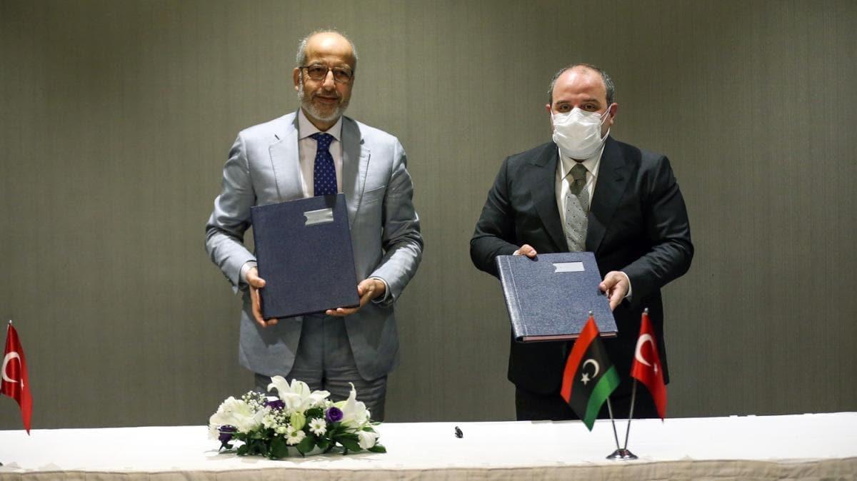 Türkiye ve Libya arasında ''Ekonomi ve teknoloji'' alanında işbirliği protokolü imzalandı